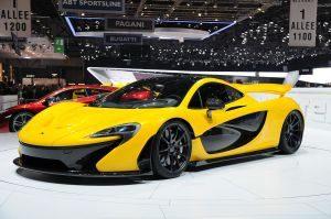 McLaren P1 Hybrid Sports Car