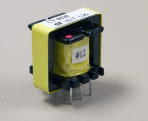 Step up transformer for phantom voltage