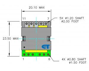 Planar Transformer CET-TP25D