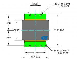 Planar Transformer CET-TP51
