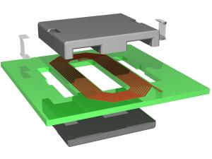 Planar Transformer - Exploded View